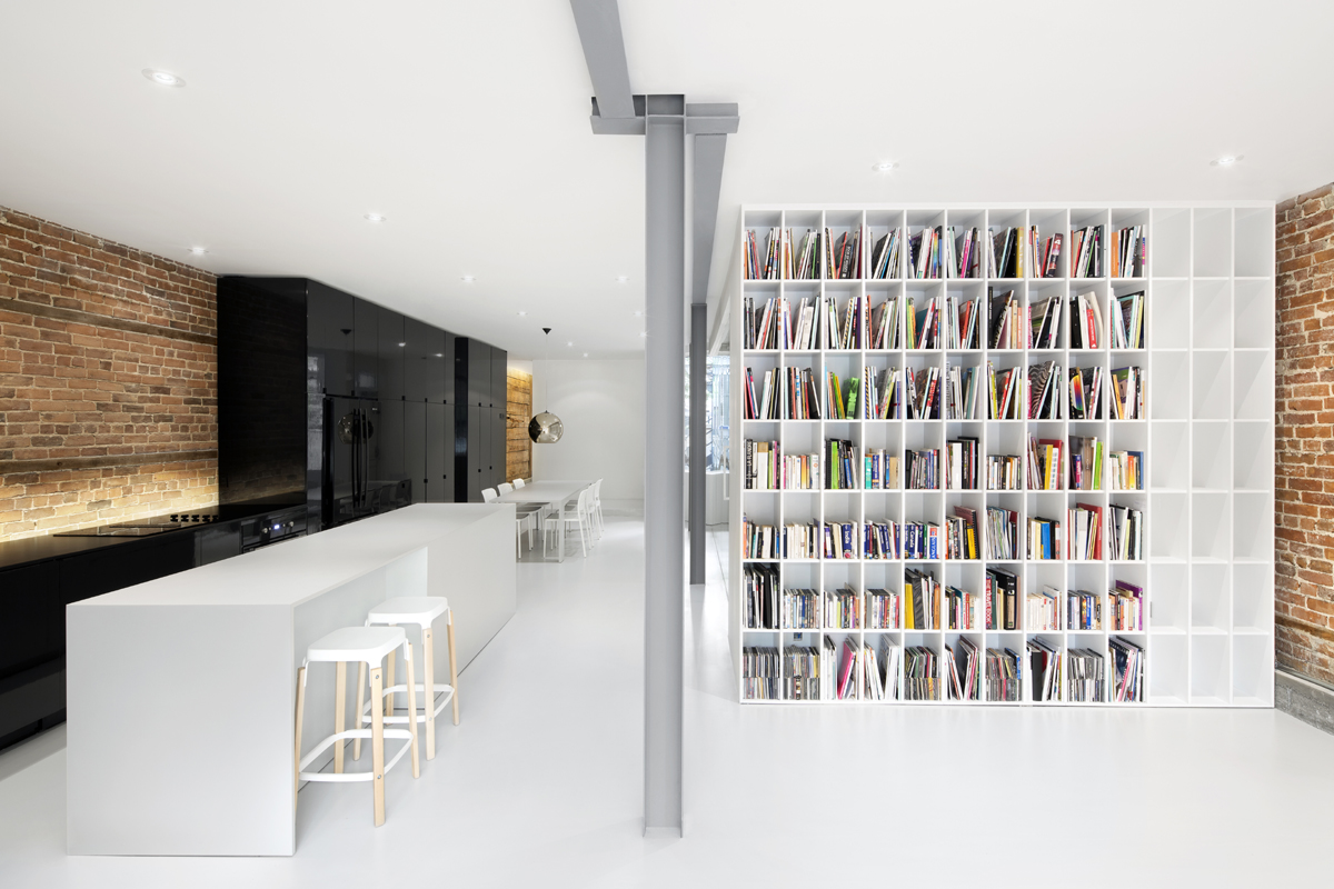 Loft saint denis by anne sophie goneau artravel magazine for Magazine architecture interieure